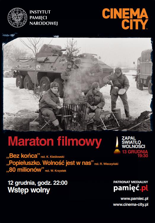 Cinema City i IPN - maraton filmowy