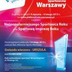 Wybierz  Najpopularniejszego Sportowca Roku w Warszawie i Sportową Imprezę Roku